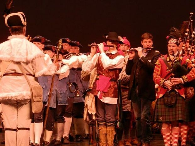 Last year's Freezer Jam Concert in Vincennes, Indiana. (Courtesy of D3 Fife and Drum Corps.)