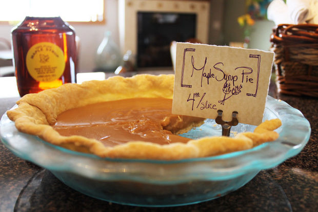 Maple syrup pie I Courtesy of the Chelsea Area Chamber of Commerce