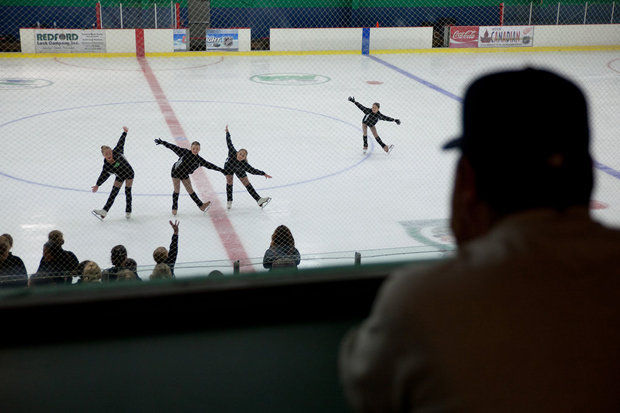 The Harmony Theatre Company is one of the many ice skaters who are performing at FrenchieSkate this Sunday, March 9 at 5 p.m. at the University of Michigan's Yost Ice Arena. (Griffin Moores | MLive.com)