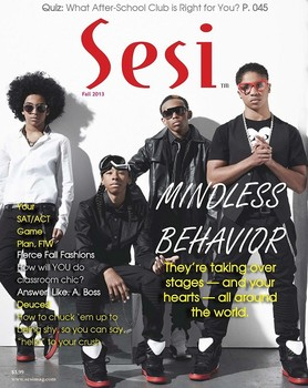 Mindless Behavior covers Sesi