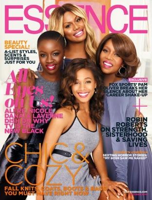 Danai-Gurira-Laverne-Cox-Nicole-Beharie-and-Alfre-Woodward-for-Essence-Magazine-October-2014