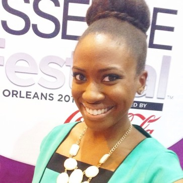 Nicole at this year's ESSENCE Festival.