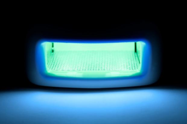 Ultraviolet lamp.