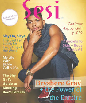 Sesi Fall 2015 Issue Bryshere Gray